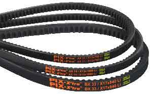 National Conveyor | PIX-X'tra Moulded Raw Edge Cogged Belts